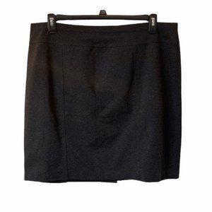 5/$20 Ellen Tracy charcoal gray mini skirt XXL